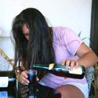 Informazioni di alcolismo per lo stand