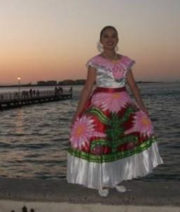 """... del Estado Baja California Sur, y se llama """"Flor de Pitahaya"""