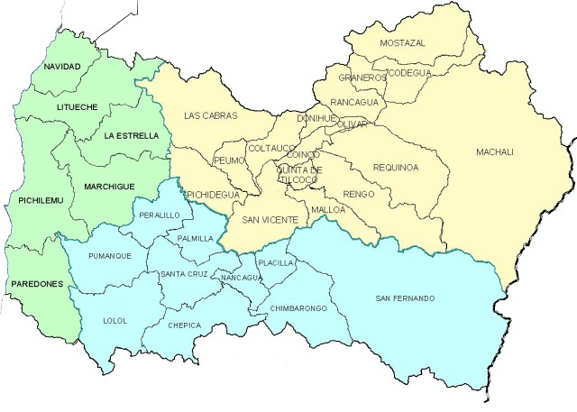 Mapa administrativo