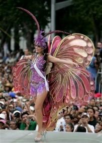 Miss Brasil 2007 Con Un Traje T  Pico