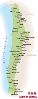 Ruta de Valdivia