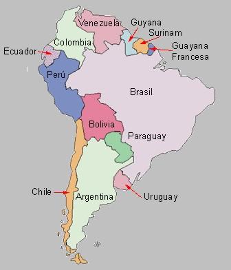 Amrica latina Geografa fsica y humana