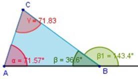 Calcular ángulos En Triángulos